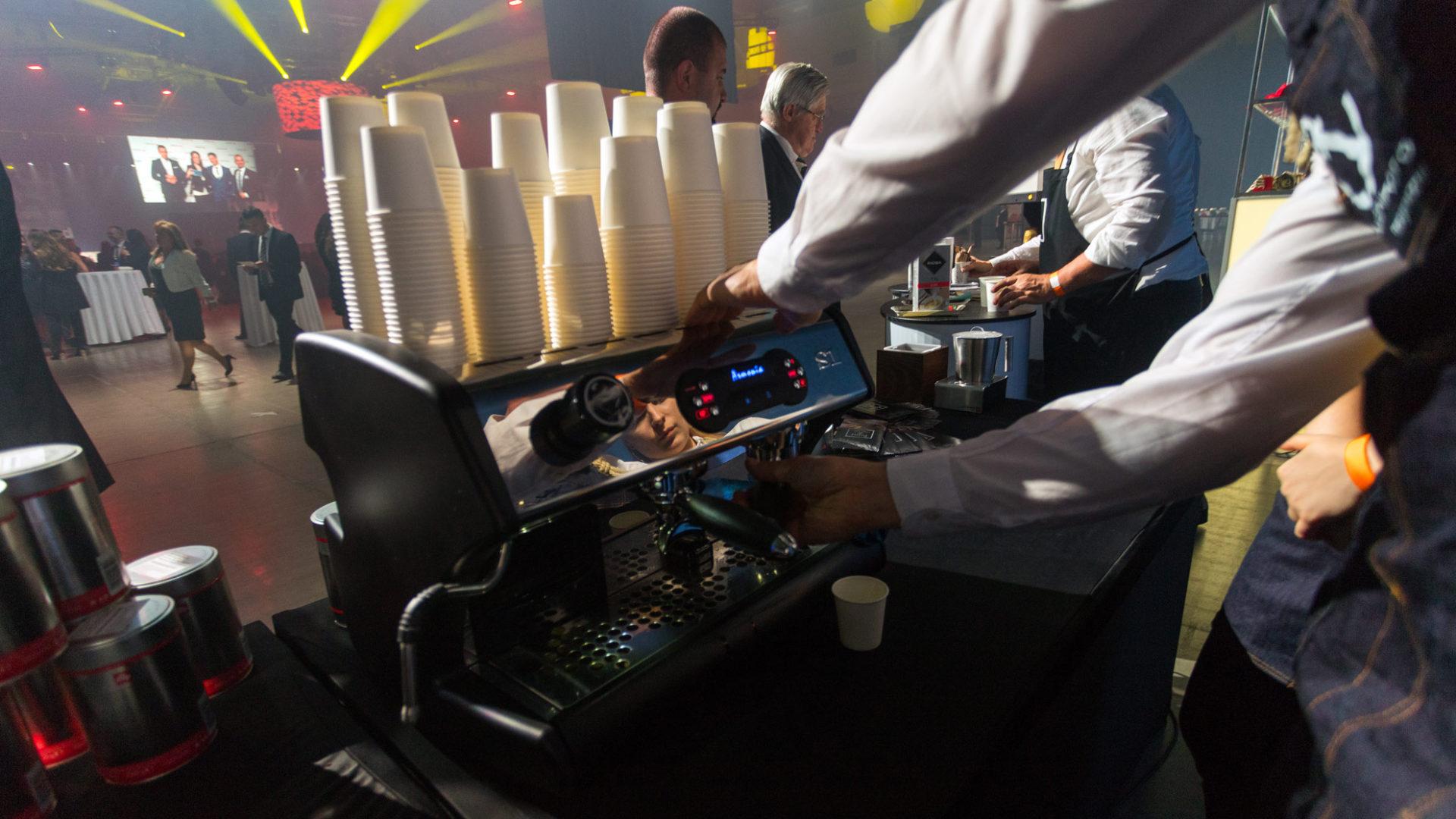Prémium kávészolgáltatás rendezvényekre
